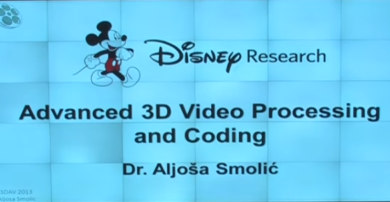 Advanced 3D and Video Processing